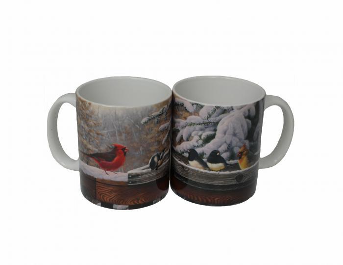 Songbird Essentials Mug 11 oz. Ent. Friends/Cs of 4