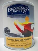 Backpacker's Pantry Cold Pasta Salad with Vegetables, Can
