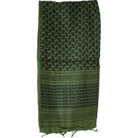 Shemagh Head Wrap, Olive Drab/Black