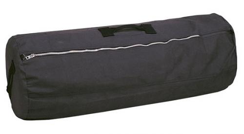 "Stansport Duffle Bag with Zipper - Black - 30"" x 50"""