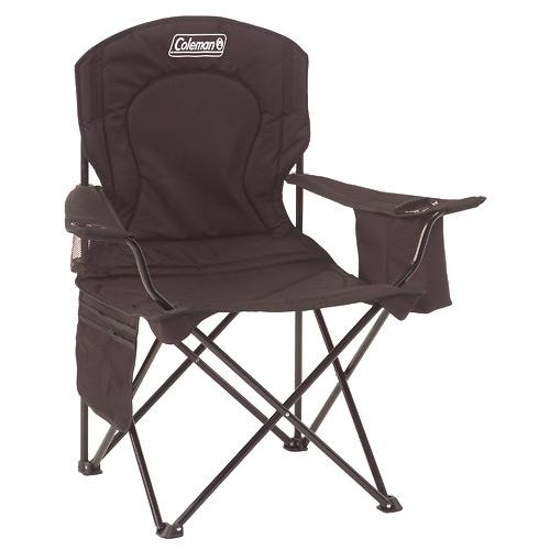 Oversized Quad Chair w/ Cooler - Black