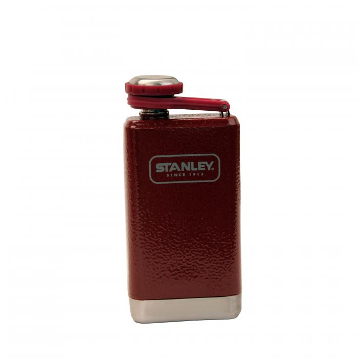 Adventure Stainless Steel Flask, 5oz Red