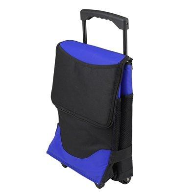 Picnic at Ascot 60 Can Collapsible Insulated Rolling Cooler -  Royal Blue