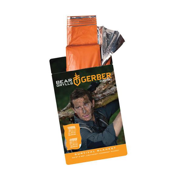Gerber Bear Grylls Survival Blanket, 96 in X 30 in