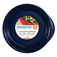 Preserve Plates 4 Ct  Blue