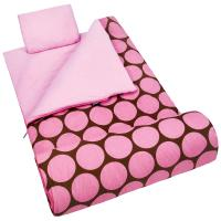 Olive Kids Big Dot Pink Sleeping Bag