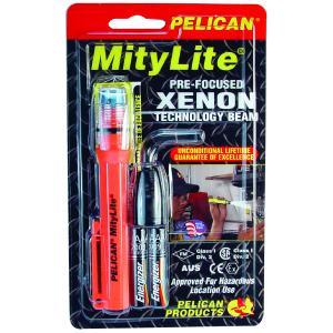 Pelican Products Mitylite Laserspot 2AAA w/Batteries, Orange