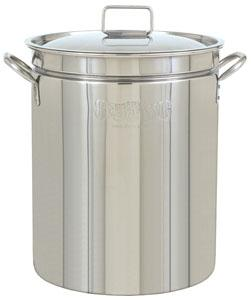 Bayou Classic 36 Quart Stainless Steel Stockpot with Lid