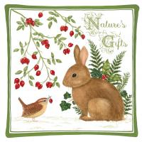 Alice's Cottage Winter Bunny Spiced Hot Pad