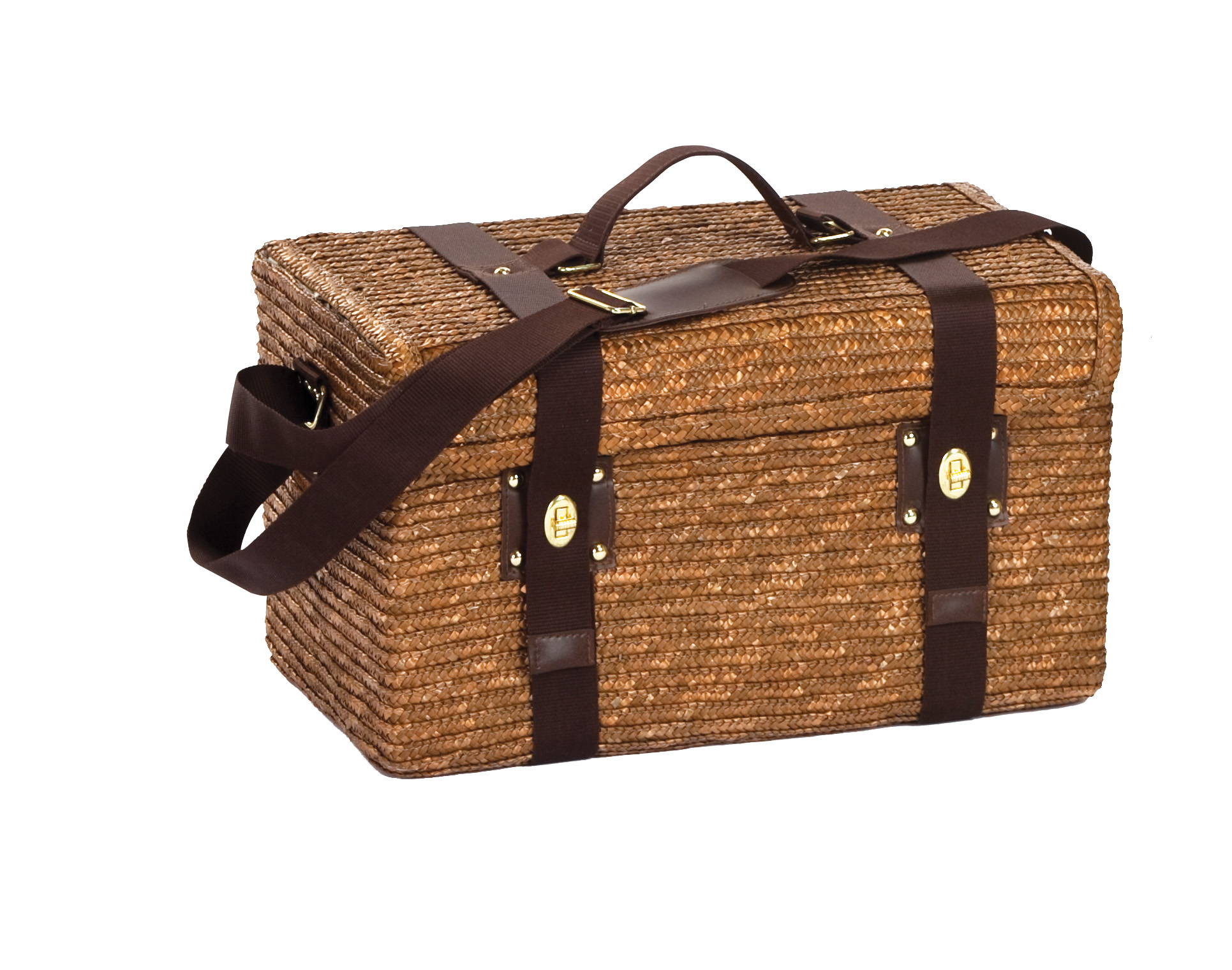 Picnic Plus Woodstock  Person Picnic Basket With Insulated Cooler