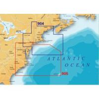 Navionics Platinum Plus 905PP - Mid Atlantic & Canyons - CF Card