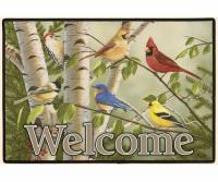 Fiddler's Elbow Backyard Birds Doormat