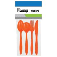 Olicamp 4 Piece Cutlery - Orange