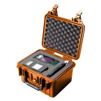 Pelican Products 1300 Case, Orange with Foam