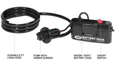 Zodi Portable Battery Powered Bilge Water Pump