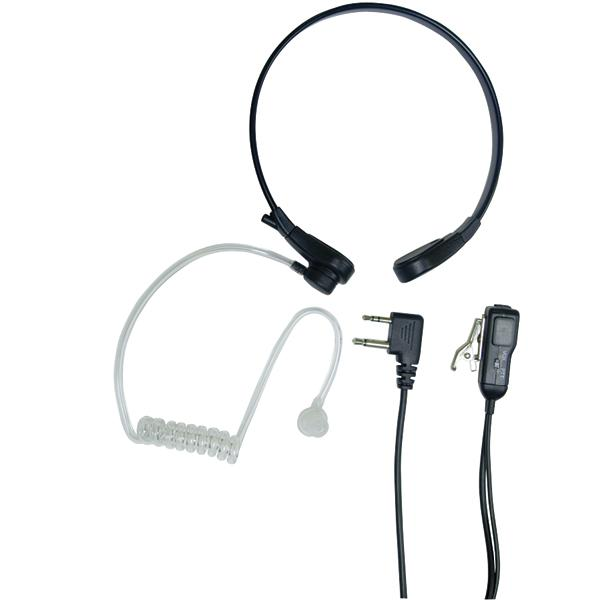 Acoustic Throat Mic For GMRS Radios With Ptt/vox Compartment