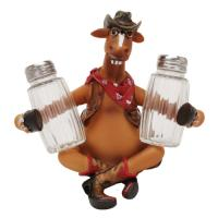 Rivers Edge Products Horse Salt And Pepper Shaker