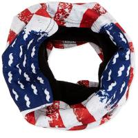 ZANheadgear Fleece Lined Motley Tube - Vintage Flag