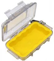 Pelican 1015 Micro Case, Clear Top Yellow