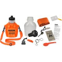 NDuR Survival Canteen Kit w/Advanced Filter, Orange, 46oz.