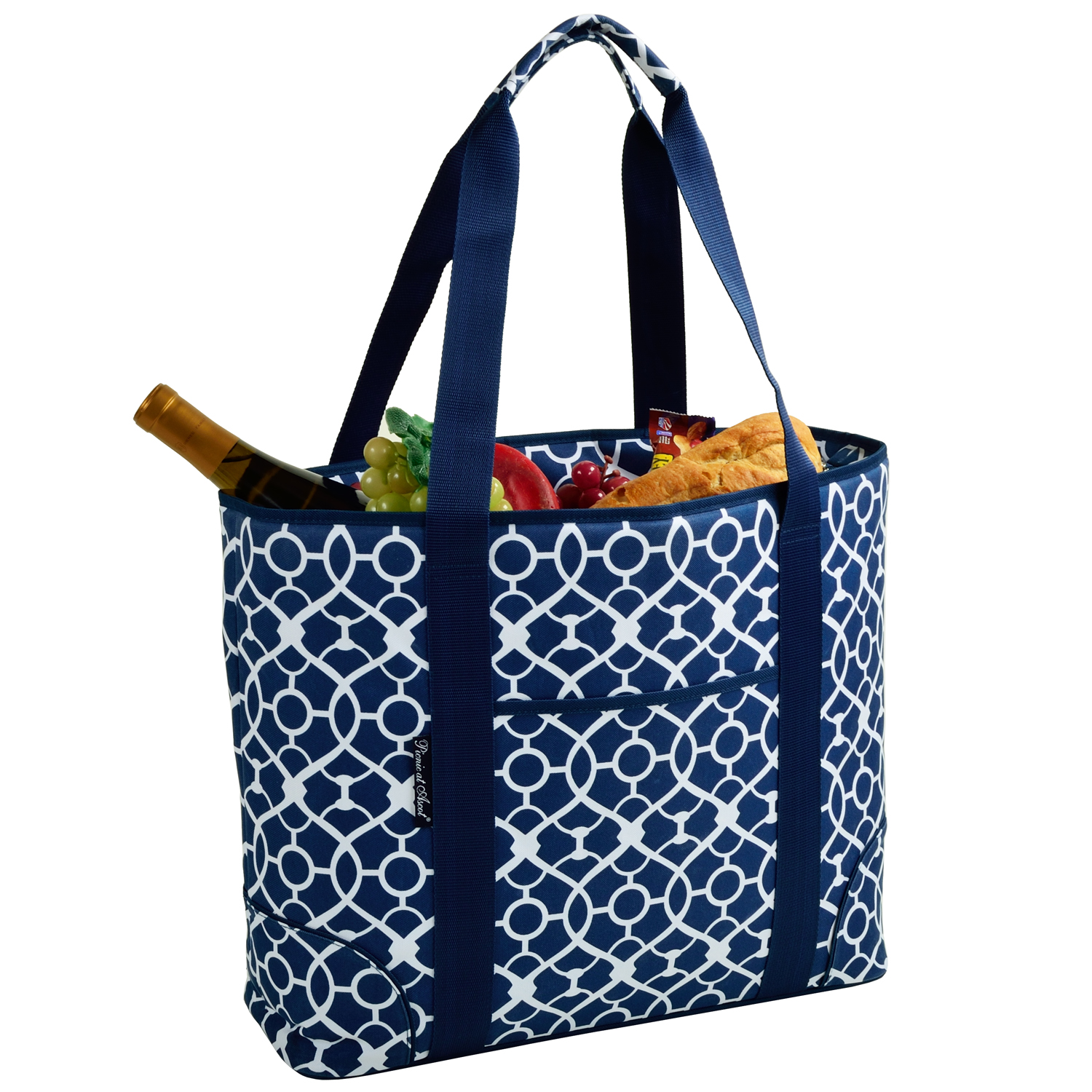 picnic at ascot extra large insulated cooler bag 30 can. Black Bedroom Furniture Sets. Home Design Ideas