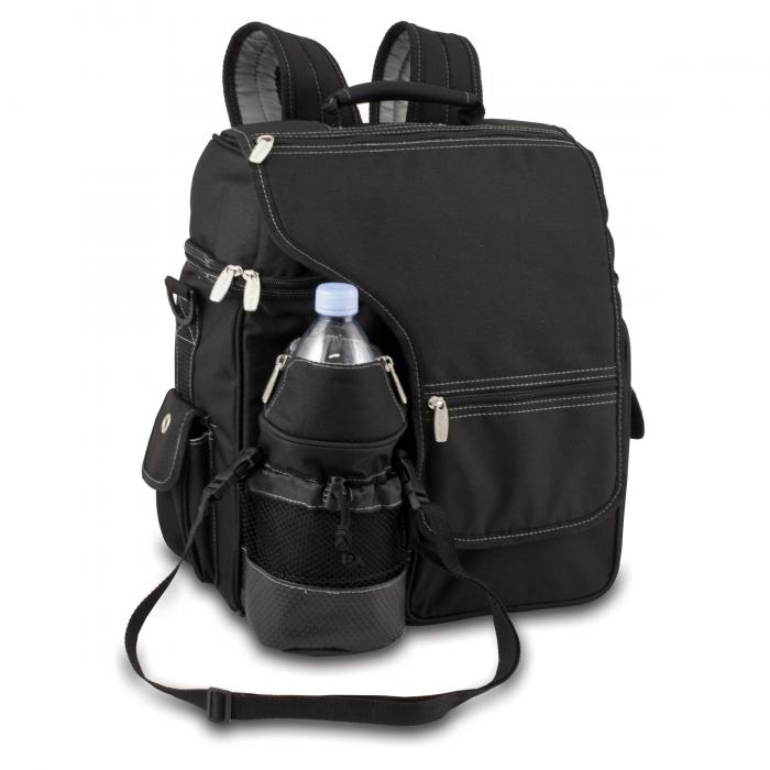 Picnic Time Turismo Backpack, Black