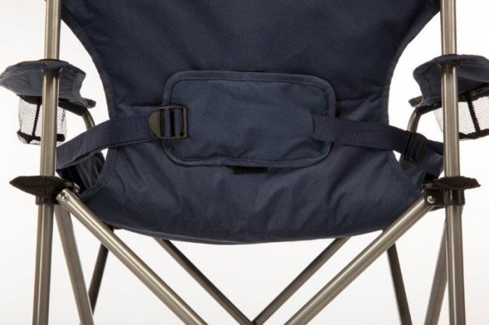 Kamp-Rite Folding Chair with Padded Lumbar