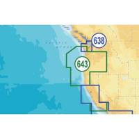 Navionics Platinum Plus Oregon & California - CF