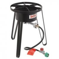 "Bayou Classic 21"" Tall: HP Cooker w/ full windscreen"