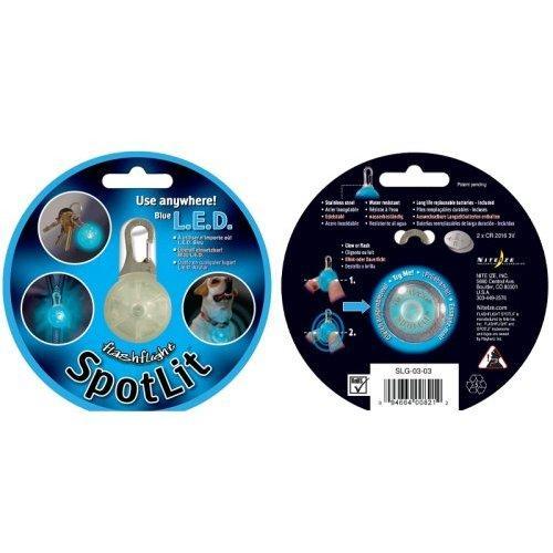 Nite-ize Spotlit Standard Safety Light, Blue