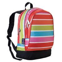 Olive Kids Bright Stripes Sidekick Backpack