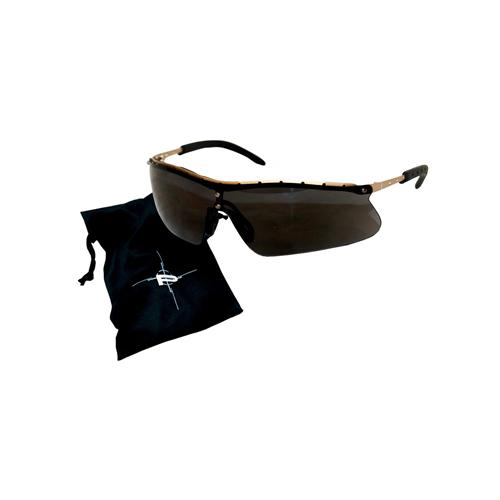 Peltor Metaliks Plus Shooting Glasses, Black Frame