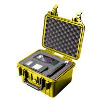 Pelican Products 1300 Case, Yellow with Foam