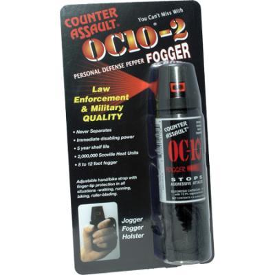 Counter Assault OC 10 Fogger with Jogger Key Ring