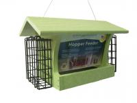 Green Solutions Medium Hopper Bird Feeder with Suets