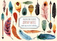 Chronicle Books Arrows & Feathers Sticky Note Set
