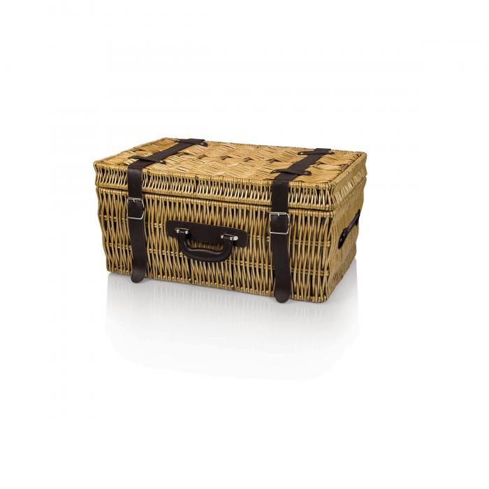 Picnic Time Carnaby St. English Style Basket for Four