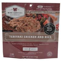Wise Foods Teriyaki Chicken w/Rice 2 Serving Pouch