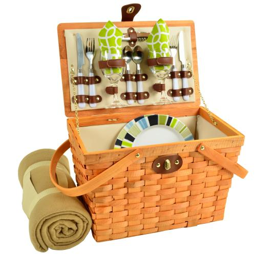 Best Picnic Basket For 2 : Picnic at ascot frisco traditional american style