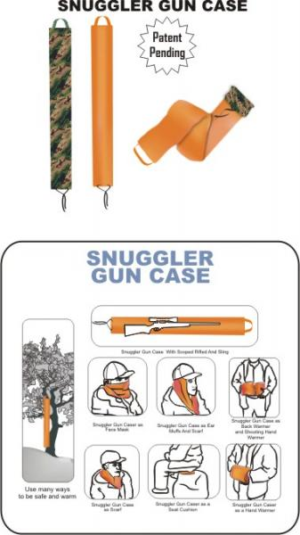 Condor Snugglers Gun Case Orange
