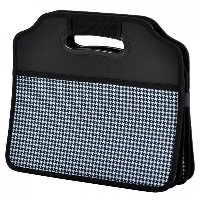 Original Folding Trunk Organizer by Picnic at Ascot - Houndstooth