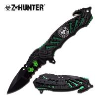 Z-Hunter Spring Assisted Rescue Knife