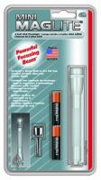 MagLite - AAA Mini Mag Silver Flashlight Hanging Pack