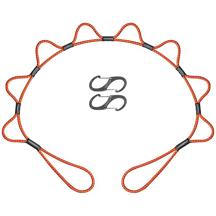 Looprope 5 Ft Orange/black