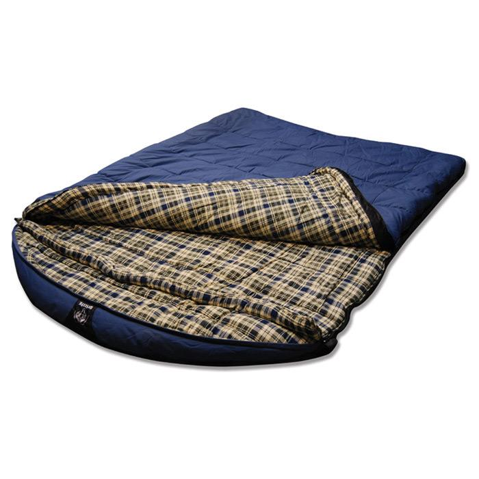 Grizzly Canvas -25 Degree 2 Person Sleeping Bag