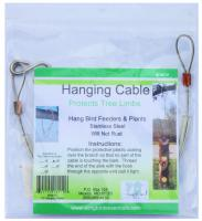"""Songbird Essentials 18"""" Limb Protective Copper & Stainless Hanger"""