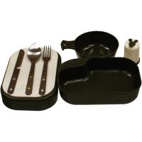Red Rock Gear Mess Kit, Black Storage, 8 Piece Set