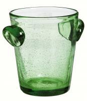 Evergreen Enterprises Green Glass Tabletop Chiller