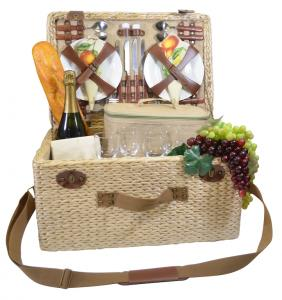 Picnic Baskets for 4 by Picnic Gift