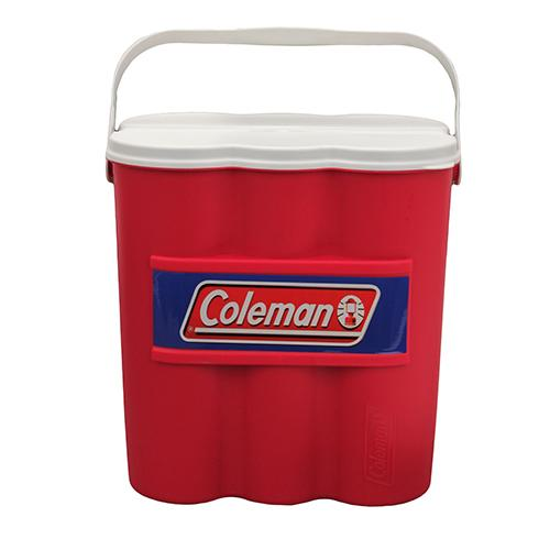 Coleman Cooler 12 Can Chiller Red W/ice Sub